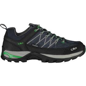 CMP Campagnolo Rigel WP Buty trekkingowe Low Mężczyźni, antracite-verde fluo
